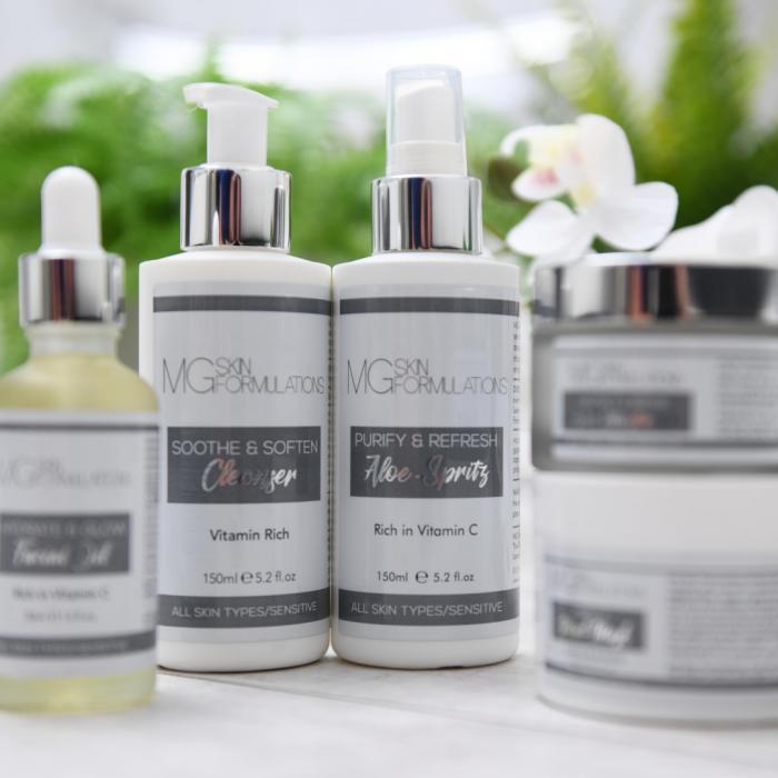 MG Skin Formulations Sensitive Range