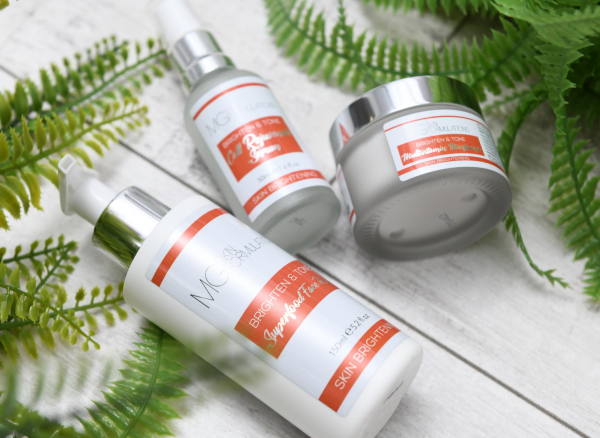 MG Skin Formulations Brighten & Tone Range Kit