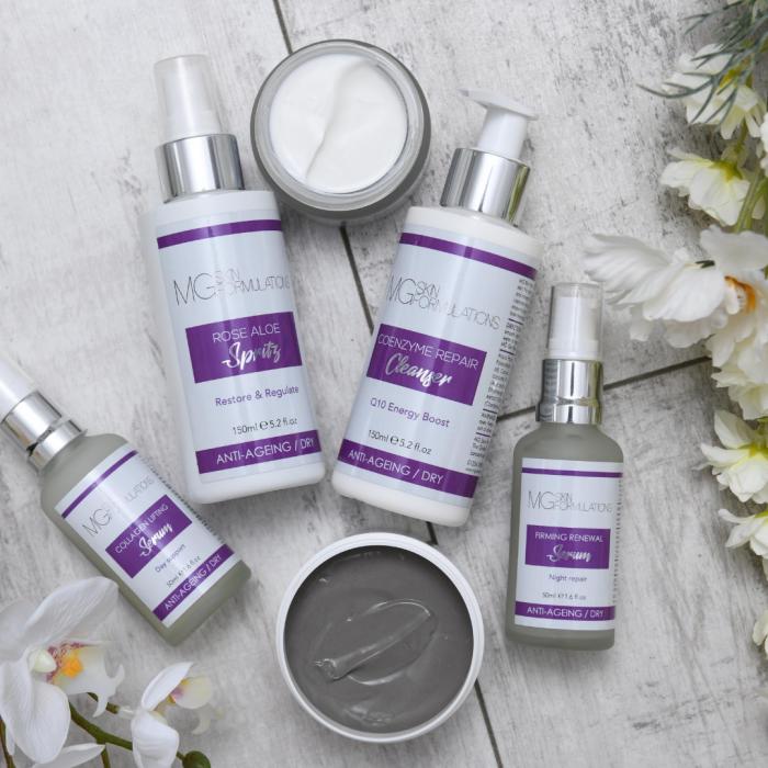 MG Skin Formulations Anti-Ageing Range